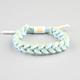 RASTACLAT Argentina Braided Shoelace Bracelet