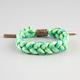 RASTACLAT Grizzly Indica Shoelace Bracelet