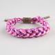 RASTACLAT Grizzly Sizzur Shoelace Bracelet
