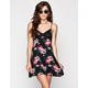 FULL TILT Floral Print Slip Dress