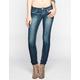 HIPPIE LAUNDRY Womens Flap Pocket Skinny Jeans