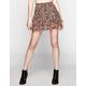 HIPPIE LAUNDRY Floral Print Skater Skirt