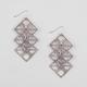 FULL TILT 3 Tier Geometric Earrings