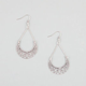 FULL TILT Filigree Moon Earrings