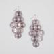 FULL TILT Round Sunburst Chandelier Earrings