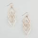 FULL TILT 3 Tier Diamond Earrings