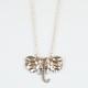 FULL TILT Elephant Necklace