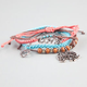 FULL TILT 4 Piece Elephant/Love/Heart Bracelets