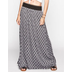 FULL TILT Crochet Waist Maxi Skirt