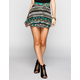 FULL TILT Ethnic Arrow Skater Skirt