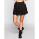 LILY WHITE Crochet Skater Skirt