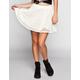 LILY WHITE Crochet Skater Skirt