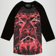 LRG Lion Shocker Mens Baseball Tee