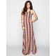 FULL TILT Halter Maxi Slip Dress