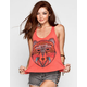 FULL TILT Boho Bear Womens Tank