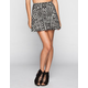 FULL TILT Ethnic Print Skater Skirt