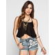 FULL TILT Womens Swing Halter Top
