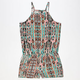 FULL TILT Ethnic Print Girls Romper