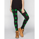 SEE YOU MONDAY Snoop Dogg Rasta Leaves Womens Leggings
