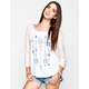 BILLABONG Arrow Makerz Womens Baseball Tee
