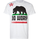 BIG BLACK Cali Flag Mens T-Shirt