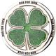 Four Leaf Clover Belt Buckle