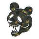 LRG Panda Black Sticker