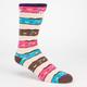 NEFF Doughnut Mens Crew Socks