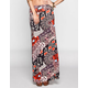 FULL TILT Patchwork Medallion Print Maxi Skirt