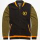 FAMOUS STARS & STRAPS Tiger Leaf Mens Varsity Jacket