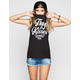 YOUNG & RECKLESS Thugs & Kisses Womens Muscle Tank