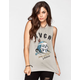 RVCA Head Hunter Womens Muscle Tank