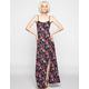 FULL TILT Floral Print Maxi Slip Dress