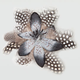 FULL TILT Dotted Feather Hair Clip