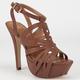 DELICIOUS Rustic Womens Heels