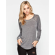 VOLCOM Lived In Burnout Womens Tee