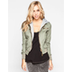 FULL TILT Fleece Hooded Womens Twill Jacket