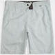 HURLEY Langley Boardwalk Mens Hybrid Shorts