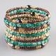 FULL TILT Beaded Coil Bracelet
