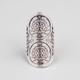 FULL TILT Etched Sun Knuckle Ring