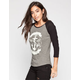 VANS Established Womens Baseball Tee