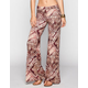 FULL TILT Diamond Ethnic Print Womens Wide Leg Pants