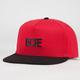 DOPE Matte Black Logo Mens Snapback Hat