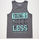 YOUNG & RECKLESS Bandana Bars Mens Tank