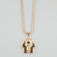 THE GOLD GODS Pharaoh Head Necklace