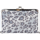 Sparkle Leopard Kiss Lock Wallet