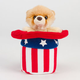 Red White and Boo Plush