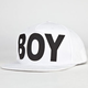 BOY LONDON Boy Cap Mens Snapback Hat