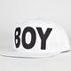 BOY LONDON Boy Cap Mens Snapback Hat