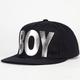 BOY LONDON Boy Cap Silver Mens Snapback Hat